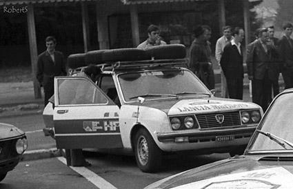 Reparto Corse Lancia - Service für Fulvias