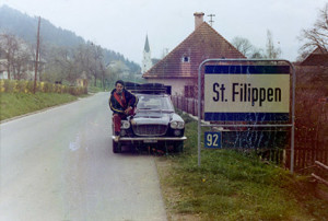 Reparto Corse Lancia - Österr. Alpenfahrt 1970 - Mario Brosio in Kärnten