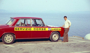 Reparto Corse Lancia - Service in Griechenland