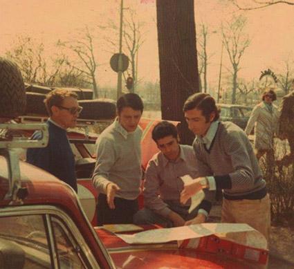 Reparto Corse Lancia - Tulpenrallye 1970: Sergio Barbasio, Mario Mannucci mit Gino Gotta und