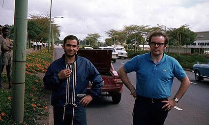 Reparto Corse Lancia - East African Safari 1969 - Luigino Podda und John Davenport
