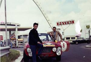 Reparto Corse Lancia - Trofeo Villa d'Este 1969: Mario Brosio und Gino Fraboni