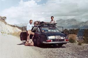 Reparto Corse Lancia - Akropolis Rallye 1970 - Service mit der Flavia Munaris von der Rallye Monte-Carlo 1966