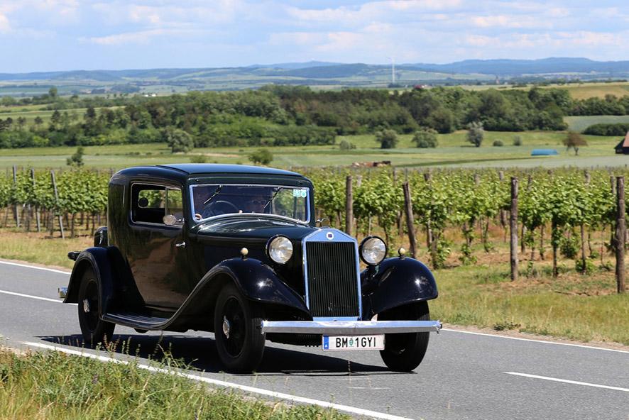 Niederösterreich Historic 2017 - Lancia Astura Pinin Farina Coupé 1932
