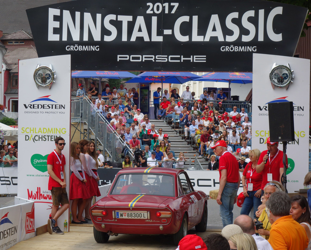 Ennstal-Classic 2017 - Start zum Zenith-GP in Gröbming
