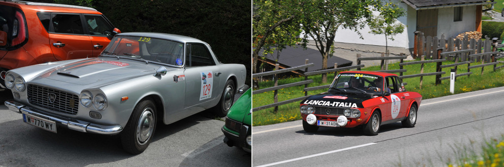 Flaminia GT und Fulvia 1600 HF