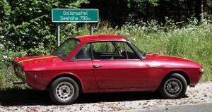 Gollersattel bei Arzberg - auch heute noch SP bei Rallyes
