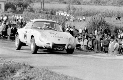 Bergrennen Bad Mühllacken 1968 - Gert Scholz auf Matra Jet 6