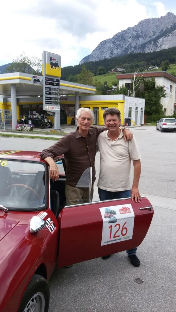 Ennstal Classic 2017 - Daniele Audetto und Helmut Neverla