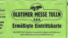 Oldtimer Messe Tulln 2018