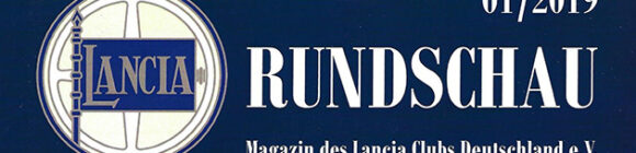 Lancia Rundschau 01/2019