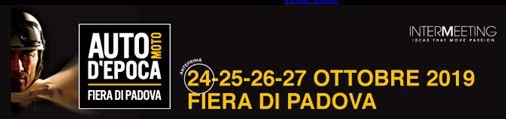 Auto e Moto d'Epoca – Padua 2019