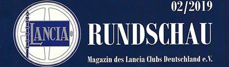 Lancia Rundschau 02/2019
